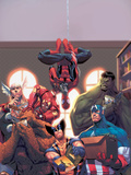 Marvel Reading Chronology 2009 Cover: Spider-Man Cartel de plástico por Jorge Molina