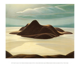 Pic Island Print by Lawren S. Harris