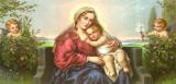 Engel-Madonna II Posters van  Mileto