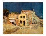 The Yellow House at Arles, c.1889 Posters av Vincent van Gogh