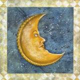 Mond Kunstdruck von A. Vega
