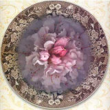 Four Dressed Plates IV Prints by Giancarlo Riboli