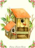 Home Sweet Home I Art by N. Kenzo