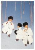 L'Ere Glaciaire Posters par Diane Ethier