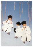 L'Ere Glaciaire Posters by Diane Ethier