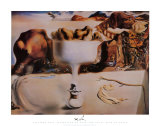 Apparition of a Face and Fruit Dish on a Beach, c.1938 Print by Salvador Dalí