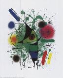 Singing Fish Posters af Joan Miró