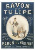 Savon de la Tulipe Poster