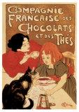 Compagnies Française des Chocolats et des Thés Posters