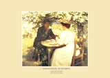 In the Spring Posters by Harold Knight
