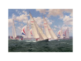 Sygma 38's Racing Off Ryde Collectable Print by Steven Dews
