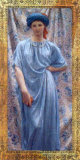 Golden Women II Print by Albert Joseph Moore