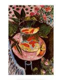 Le poisson rouge Affiches par Henri Matisse
