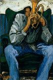 Blues Poster von Andree Vezina