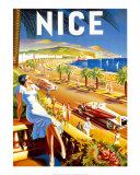 Nizza Kunstdrucke von  De'Hey