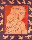 Neujahr Poster von Pablo Picasso