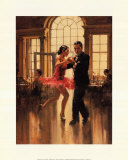 Dance to the Music Poster di Raymond Leech