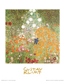 Flowery Garden Posters by Gustav Klimt