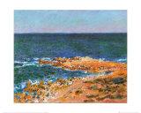 La Grande Bleue a Antibes, c.1888 Posters por Claude Monet