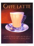 Urban Caffe Latte Posters by Paul Kenton