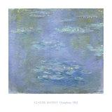 Ninfeas, 1903 Lámina por Claude Monet