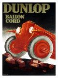 Dunlop-Reifen Giclée-Druck von  Hinklein