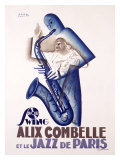 Alix Combelle Giclée-tryk af Paul Colin