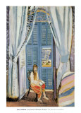 The French Window at Nice, Late 1919 Print by Henri Matisse