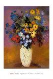 Vase of Flowers, 1914 Plakater af Odilon Redon