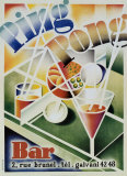 Ping Pong Bar Prints