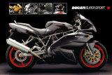 Motorcycle, Ducati Super Sport Julisteet