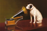 His Master's Voice Plakater