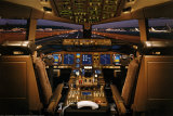 Airplane - Boeing 777-200 Flight Deck Lámina