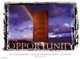 Opportunità Poster