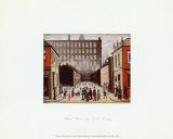 Street Scene Kunst av Laurence Stephen Lowry