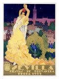 Sevilla Impressão giclée por  Estela