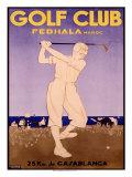 Golf Cup, Fedhala Maroc Impressão giclée por  Majorelle