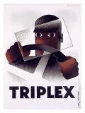 Triplex Giclée-Druck von Adolphe Mouron Cassandre