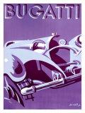 Bugatti Reproduction procédé giclée par  Gerold