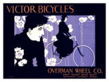 Victor Bicycles Giclee Print by William H. Bradley