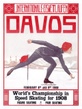 Davos Giclee Print by Walter Koch