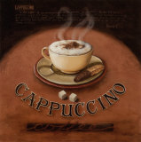 Cappuccino Poster av Lisa Audit