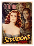 Rita Hayworth in Seduction Impressão giclée por Arturo Ballester