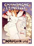 Champagne l'Etincelle Impressão giclée por Emile Berchmans