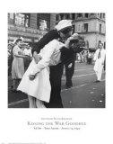 Kissing the War Goodbye, VJ Day, Times Square, August 14, 1945 Kunstdrucke von Victor Jorgensen
