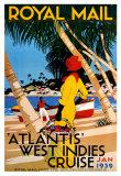 西インド諸島クルーズ ポスター