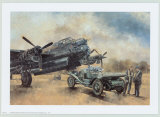 A Lancaster and a Bentley Print by Peter Miller