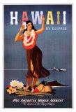 Mit dem Klipper nach Hawaii Poster