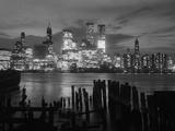 View of Manhattan Skyline from Brooklyn Photographic Print by  Bettmann