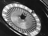 Roulette Wheel Fotografie-Druck von  Bettmann